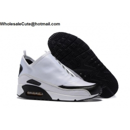 Nike Air Max 90 Utility White Black Mens Running Shoes
