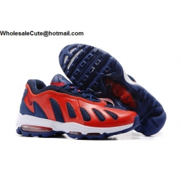 Nike Air Max 96 Blue Red White Mens Running Shoes