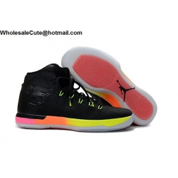 Air Jordan XXXI 31 Unlimited Mens Basketball Shoes Black Pink Volt Orange