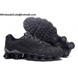 Nike Shox TLX Mens Running Shoes Grey Black