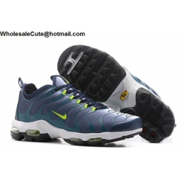 Mens Nike Air Max Plus TN Ultra Volt Dark Blue Green