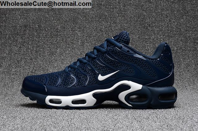 Mens Nike Air Max Plus TN TXT Dark Blue Size US7 US13