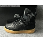 Mens & Womens Nike Special Field Air Force 1 Black Gum Boot
