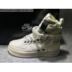 Mens & Womens Nike Special Field Air Force 1 Beige White Boot