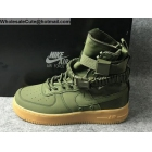 wholesale Mens & Womens Nike Special Field Air Force 1 Olive Green Boot