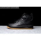 Mens Nike Lunar Force 1 Duckboot Black Gum