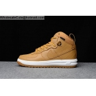 Mens Nike Lunar Force 1 Duckboot Wheat White