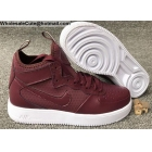 Mens & Womens Nike Air Force 1 UltraForce Mid Brown White