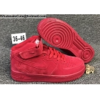 Mens & Womens Nike Air Force 1 Mid All Gym Red
