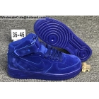 Mens & Womens Nike Air Force 1 Mid All Blue