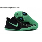 Womens Nike Kyrie 3 Black Green Basketball Shoes