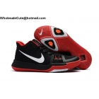 Womens Nike Kyrie 3 Black Red White Basketball Shoes