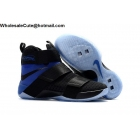 Mens Nike Zoom LeBron Soldier 10 SFG Black Blue
