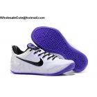 wholesale Womens Nike Kobe AD EP White Black Purple