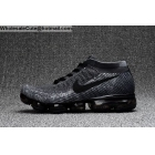 wholesale Mens & Womens Nike Air VaporMax Flyknit All Black