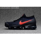 wholesale Nike Air VaporMax Blue Black Red Mens Running Shoes