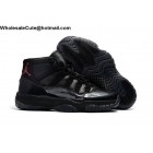 Air Jordan 11 All Black Devil Mens Basketball Shoes