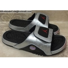 wholesale Jordan Hydro 13 Retro Silver Black Mens Slide Sandals