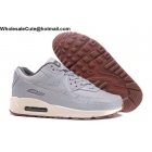 Womens Nike Air Max 90 Premium Grey Sail