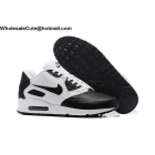 Mens & Womens Nike Air Max 90 Premium SE White Black