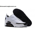 wholesale Nike Air Max 90 Utility White Black Mens Running Shoes