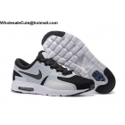 wholesale Mens Nike Air Max Zero QS White Black Running Shoes