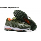 Nike Air Max 96 Army Green White Mens Running Shoes