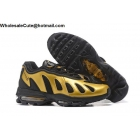 wholesale Nike Air Max 96 Black Gold Mens Running Shoes