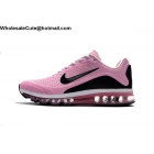 Womens Nike Air Max 2017.8 Running Shoes Pink Black