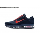 wholesale Mens Nike Air Max 2017.8 Size US7 - US13 Dark Blue Red