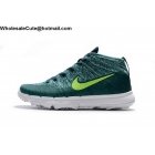 Nike Flyknit Chukka Mens Golf Tio Teal Volt White Shoes