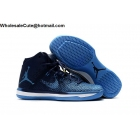wholesale Air Jordan XXXI 31 Navy Mens Basketball Shoes Blue White