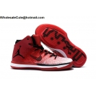 wholesale Air Jordan XXXI 31 Chicago Mens Basketball Shoes Red Black White