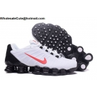 Nike Shox TLX Mens Running Shoes White Black Red