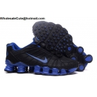 Nike Shox TLX Mens Running Shoes Black Blue