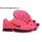 wholesale Womens Nike Shox TLX Running Shoes Pink Black