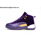 Mens & Womens Air Jordan 12 Purple Velvet