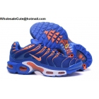 Nike Air Max Plus TN Mens Running Shoes Blue Orange