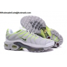 Nike Air Max Plus TN Mens Running Shoes White Grey Volt