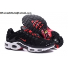 Nike Air Max Plus TN Mens Running Shoes Black Red White