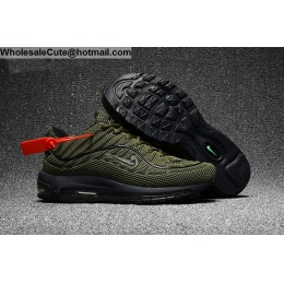Supreme Nike Air Max 98 Mens Running Shoes Army Green