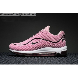 Womens Supreme Nike Air Max 98 Running Shoes Pink White