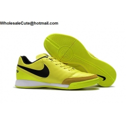 Mens Nike Tiempo Mystic V IC Yellow Volt Black