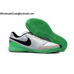 Nike Tiempo Mystic V IC Grey Green Black