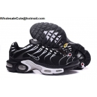 Nike Air Max Plus TN Mens Running Shoes Black White