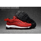 wholesale Supreme Nike Air Max 98 Mens Running Shoes Red White