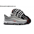 Nike Air Max 97 Mens Running Shoes Grey White Red