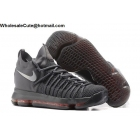 wholesale Nike Zoom KD 9 EliteMens Basketball Shoes Dark Grey