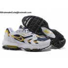 Mens Nike Air Max 96 II XX White Goldenrod Navy