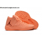 wholesale Mens Jordan Melo M13 Energy Sunset Glow Orange